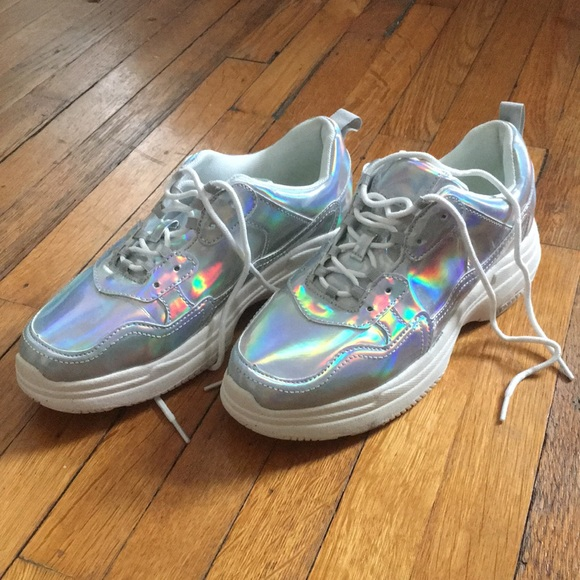 wild fable Shoes | Holographic Chunky